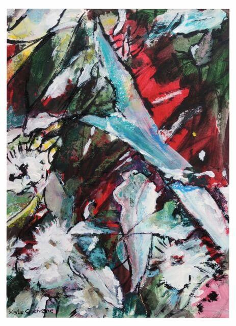 3 Eucalypt flowers, sketch (463x640)