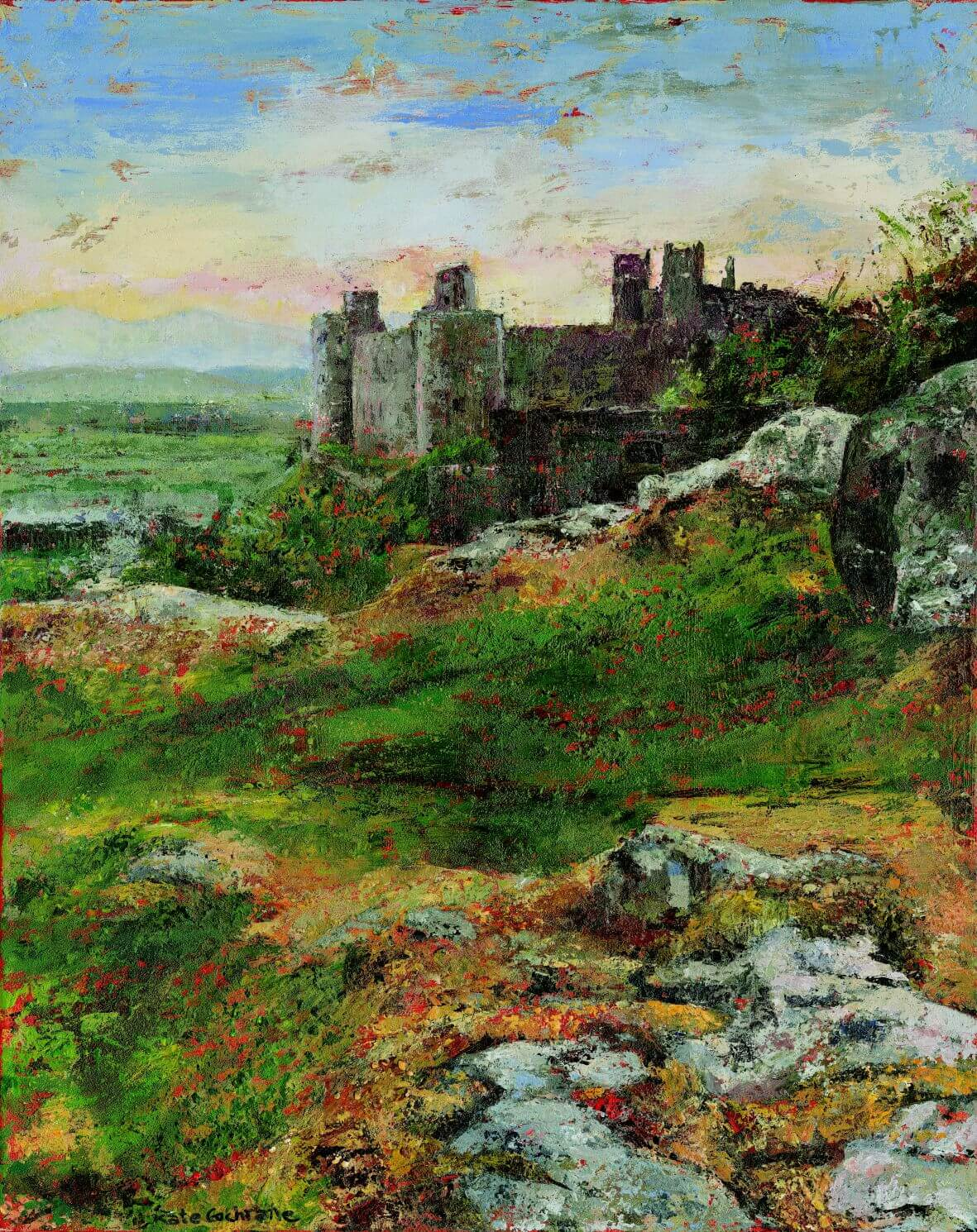 'Under the Stones', Harlech Castle