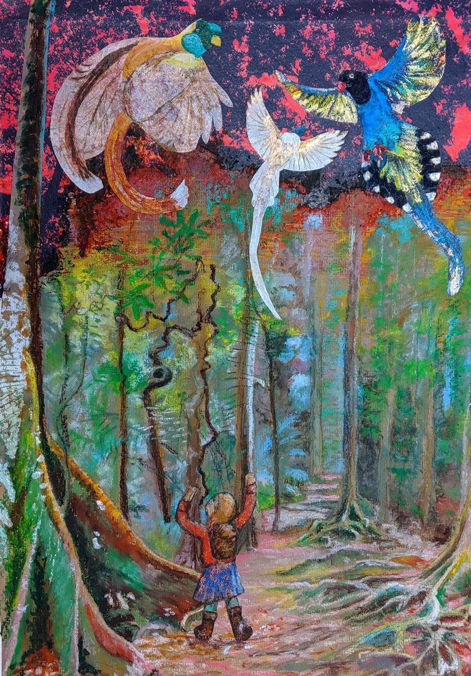 'Gratitude', rescent Moon Bear series