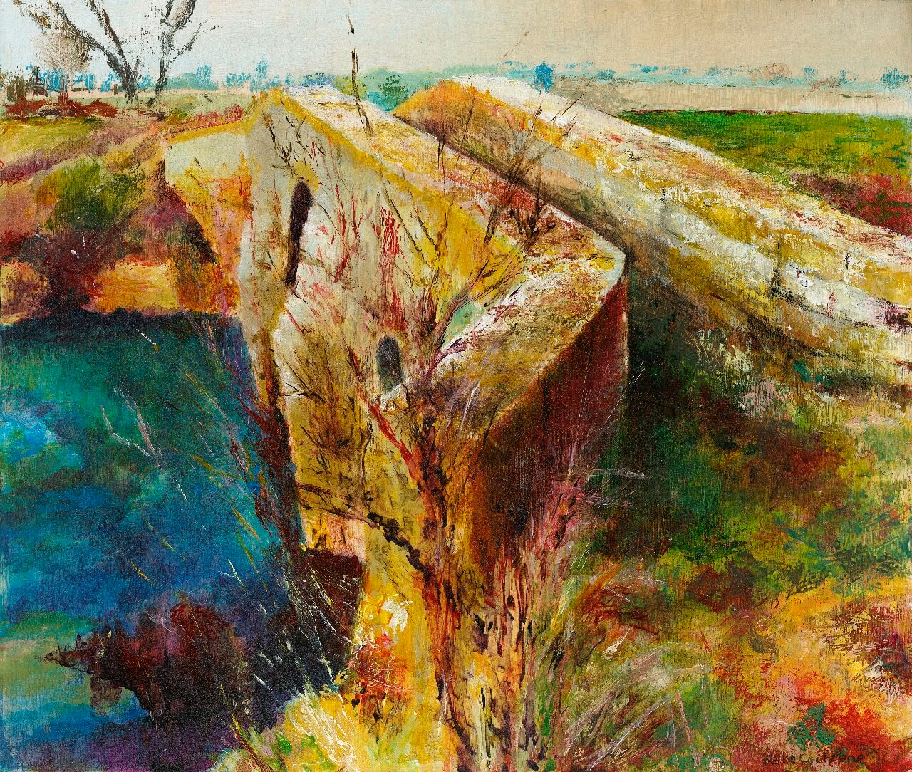 'Crossing the Yeo', Pill Bridge, Ilcester