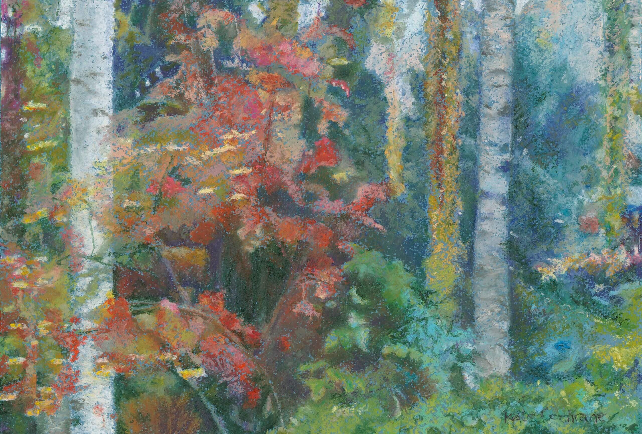 'The Woodland Garden Next Door', Keyford, Frome