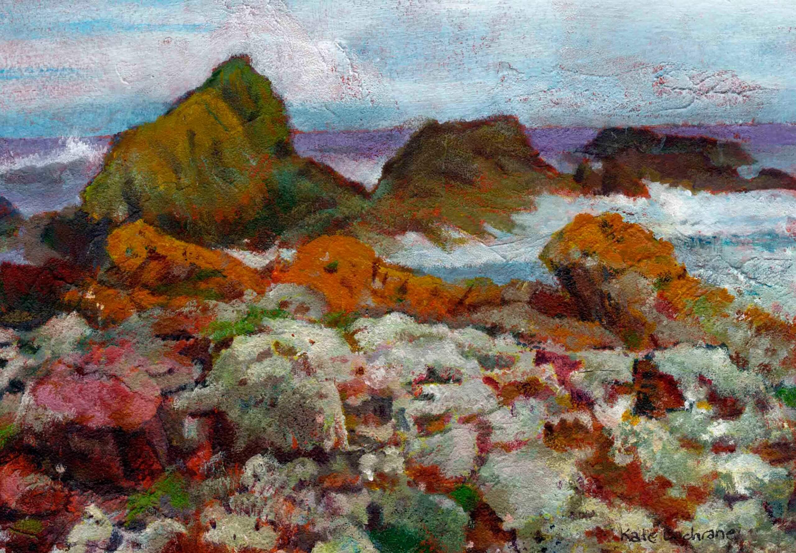 'Orange Rocks', St Abb's Head, Scotland