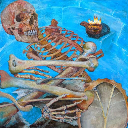'Tangled Bones' Crescent Moon Bear series