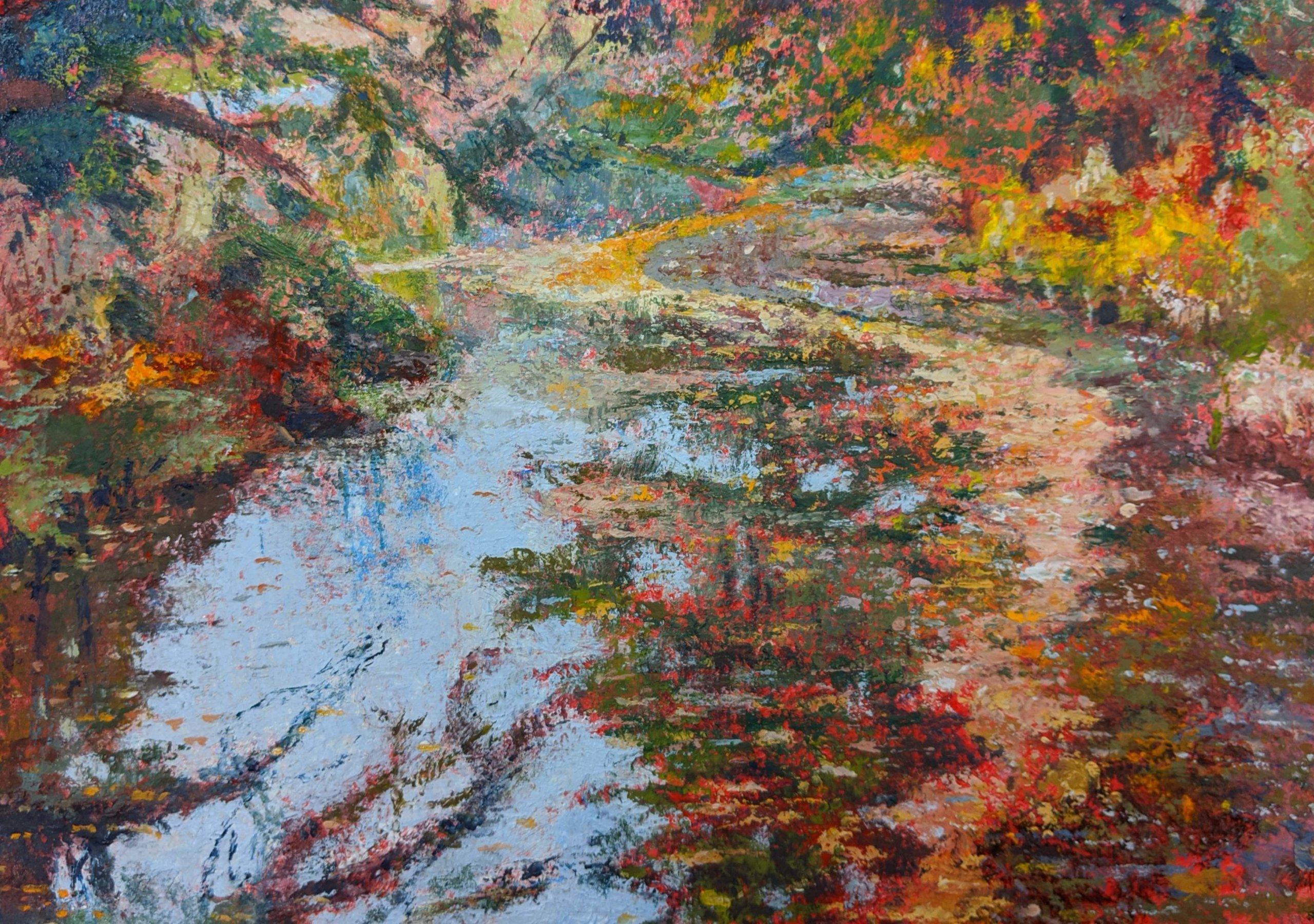 Leaf trail, Stourhead
