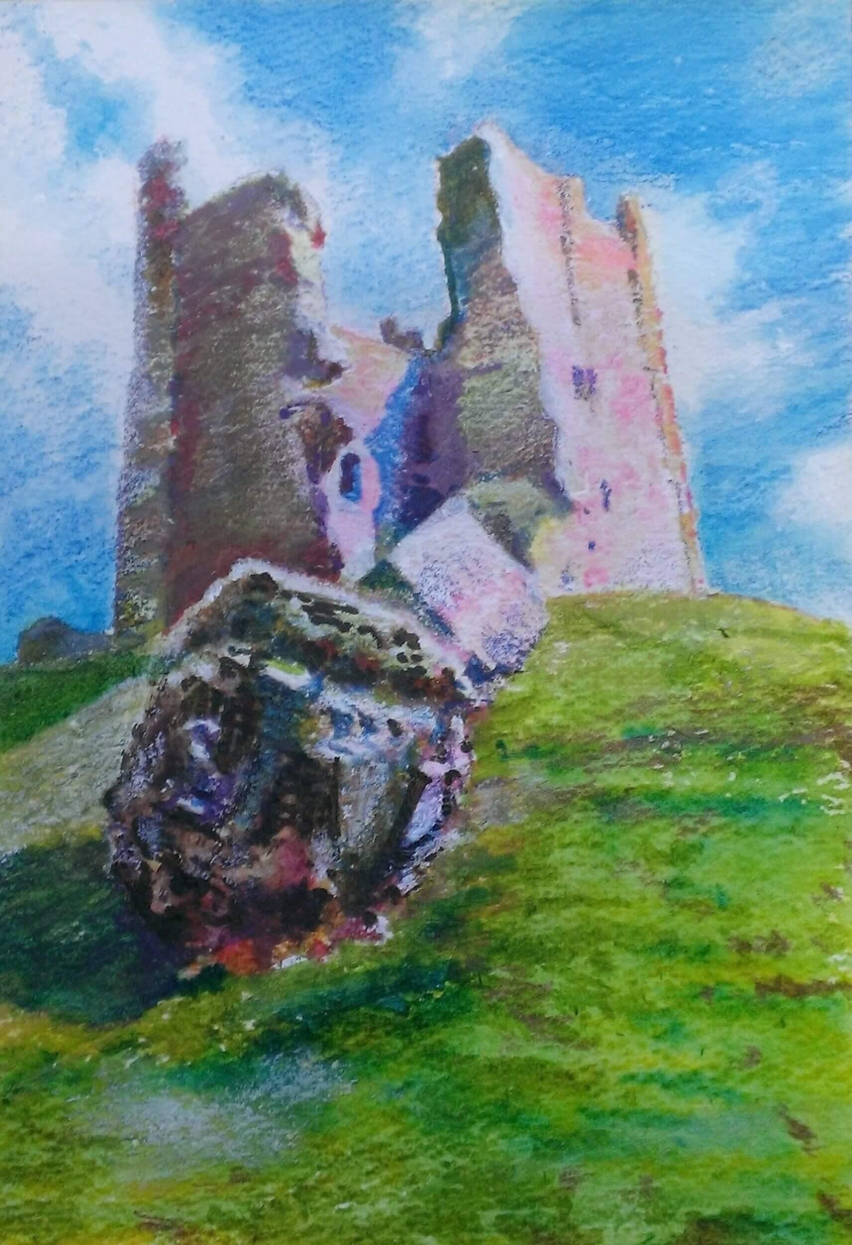 Brough Castle study